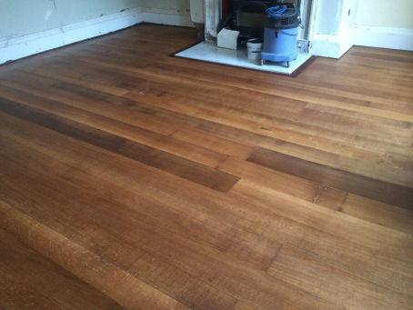 after floor restoration