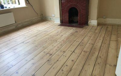 Recently finished floor by Heritage Floor Restoration